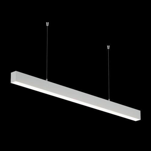 Светильники из профиля I-Type-5050-12-32-WW: Профиль LS 5050, Лента 4x DSG 2835 WW 280L-V24-IP33, 700LED, 26W/m, LUX, подвесы. Без блока питания.