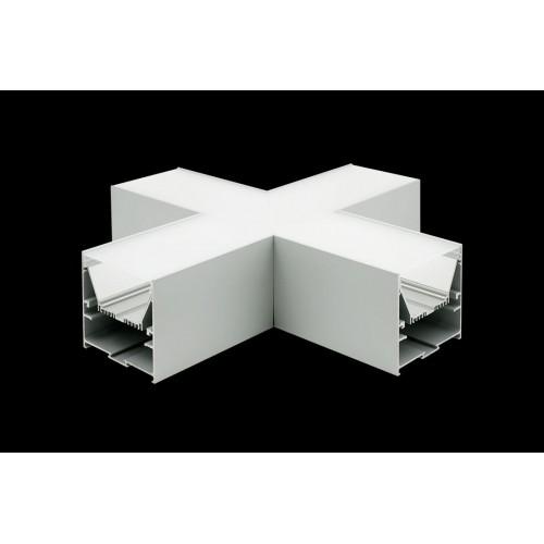 Угловой X-образный коннектор L9086-X90 для профиля L9086