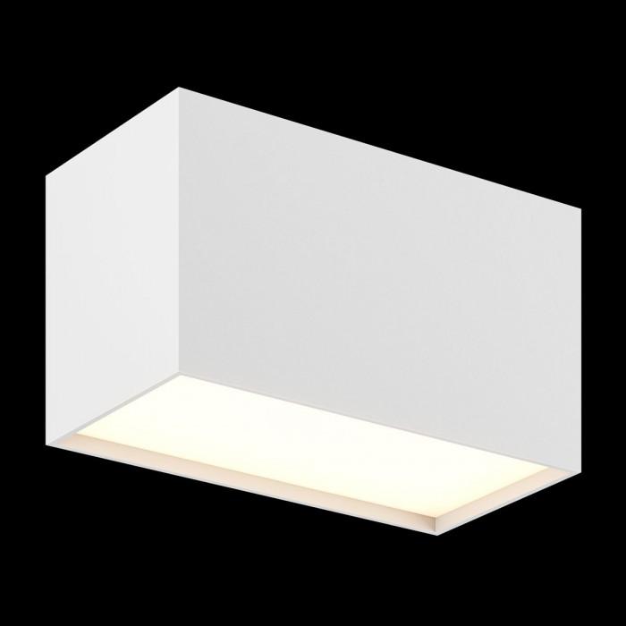 1Светильник светодиодный потолочный накладной, белый, 20Вт, IP20, Теплый белый (3000К)