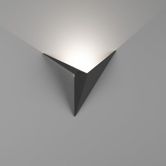 1Бра декоративное TRIK, черный, 3Вт, 4500K, IP20, GW-9103-3-BL-NW