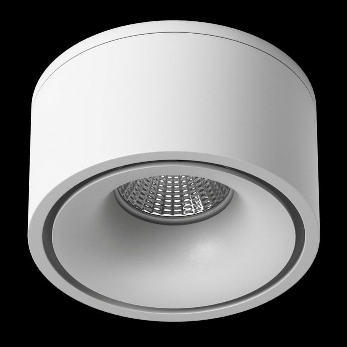 2Светильник светодиодный потолочный встраиваемый наклонно-поворотный, серия LK, Белый, 9Вт, IP20, Теплый белый (3000К)