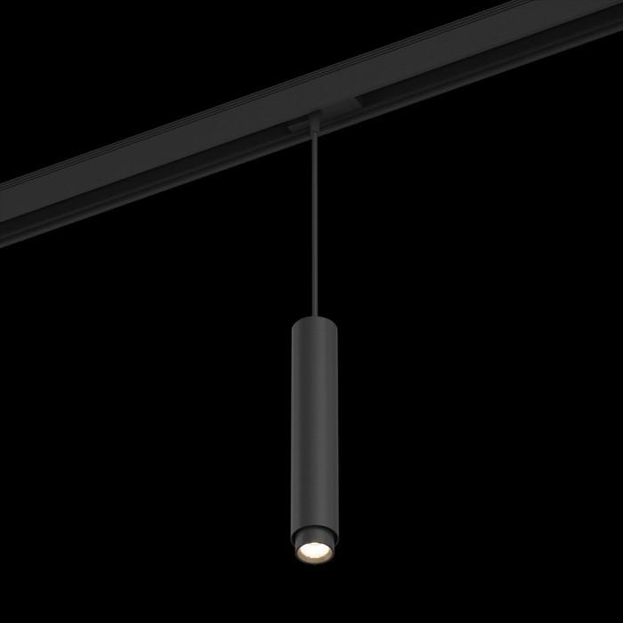 1Подвесной трековый светильник SY 10W черный 4000К SY-601241-BL-10-NW