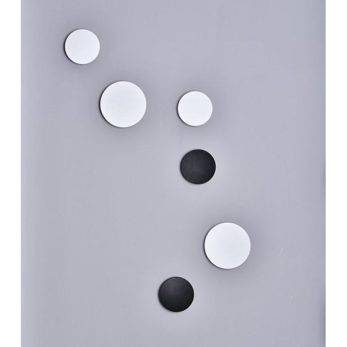 2Настенный светильник CIRCUS, черный, 9Вт, 3000K, IP54, GW-8663L-9-BL-WW