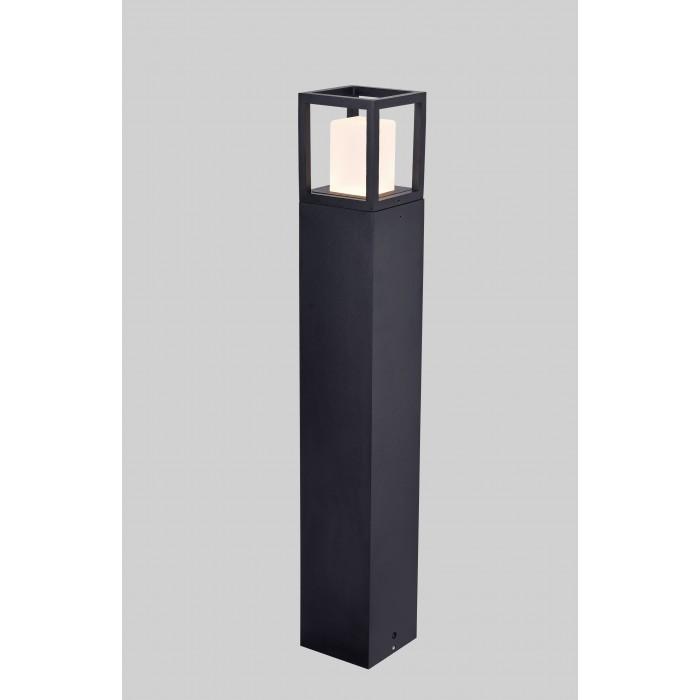 1Светильник светодиодный PO-0231-650A-BL-WW, серия JY, черный, 12Вт, IP65, Теплый белый (3000К)