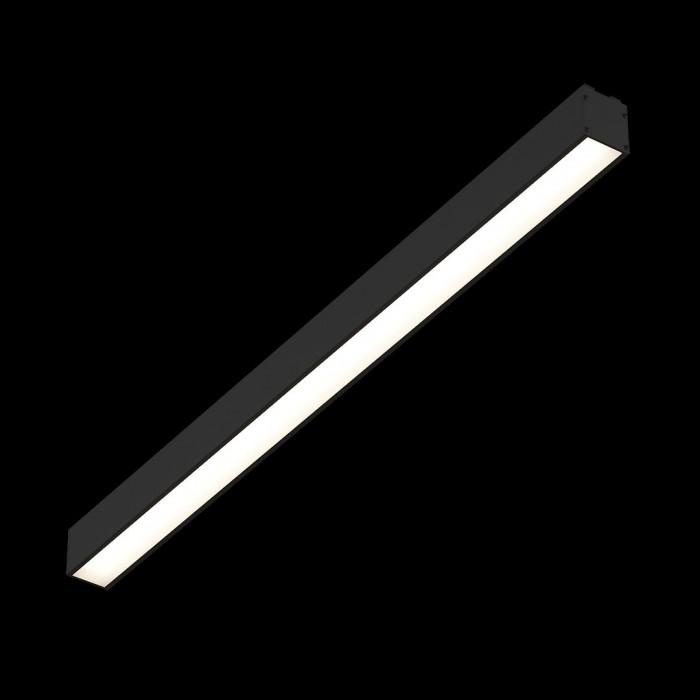 2Трековый светильник SY 24W черный 4000К SY-601212-BL-24-NW