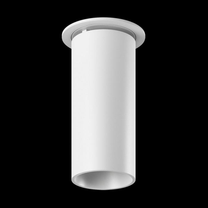 1Светильник светодиодный потолочный встраиваемый поворотный, серия DL-UM9, белый, 13Вт, IP20, Теплый белый (3000К)