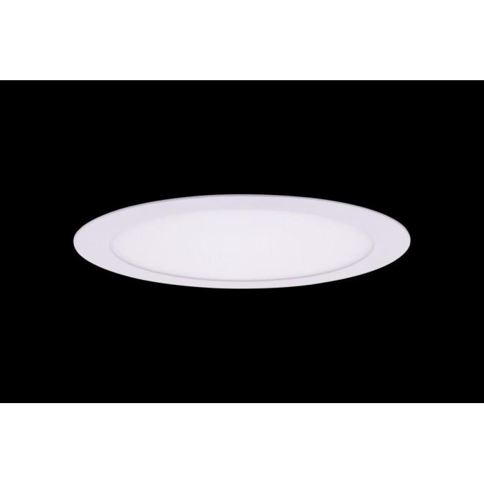 1Светильник светодиодный потолочный встраиваемый PL, Белый, Пластик + алюминий, Нейтральный белый (4000-4500K), 18Вт, IP20
