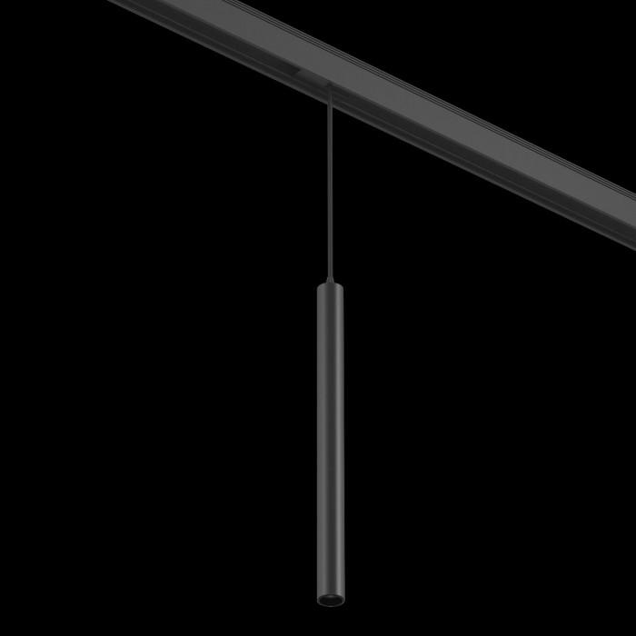 1Подвесной трековый светильник SY 7W черный 3000К SY-601243-BL-7-36-WW