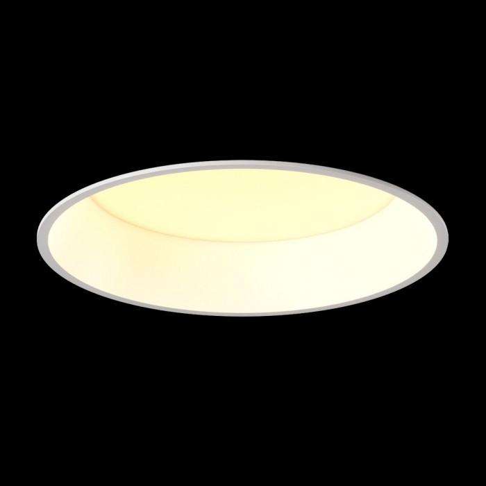 2Светильник светодиодный диммируемый потолочный встраиваемый, серия WL-BQ, белый, 15Вт, IP20, Теплый белый (3000К)