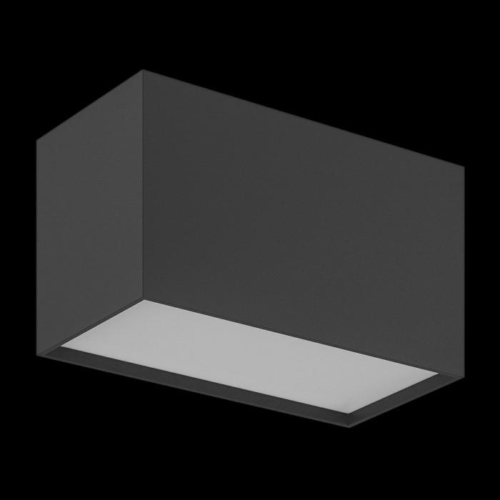 2Светильник светодиодный потолочный накладной, серия GW, черный, 20Вт, IP20, Нейтральный белый (4000К)