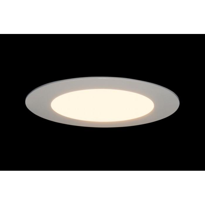 2Светильник светодиодный потолочный встраиваемый PL, Белый, Пластик + алюминий, Теплый белый (2700-3000K), купить