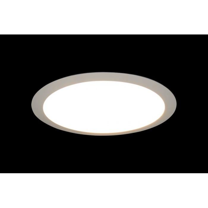 2Светильник светодиодный потолочный встраиваемый PL, Белый, Пластик + алюминий, Нейтральный белый (4000-4500K), 24Вт, IP20