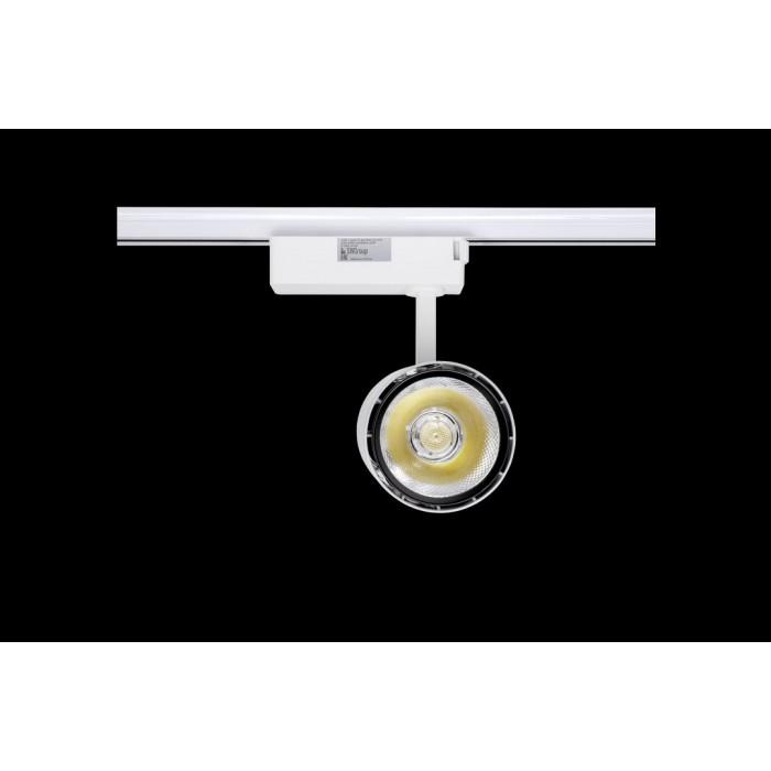 2Спот для трековыx систем серия TL58, Белый + черный, 20Вт, 2500-3500K