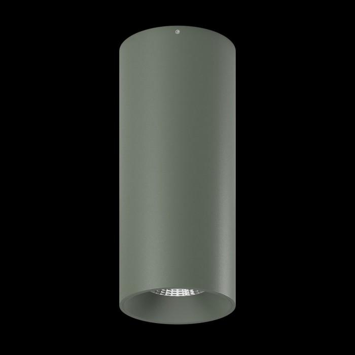 1Светильник VILLY, потолочный накладной, 15Вт, 3000K, серебряный 2