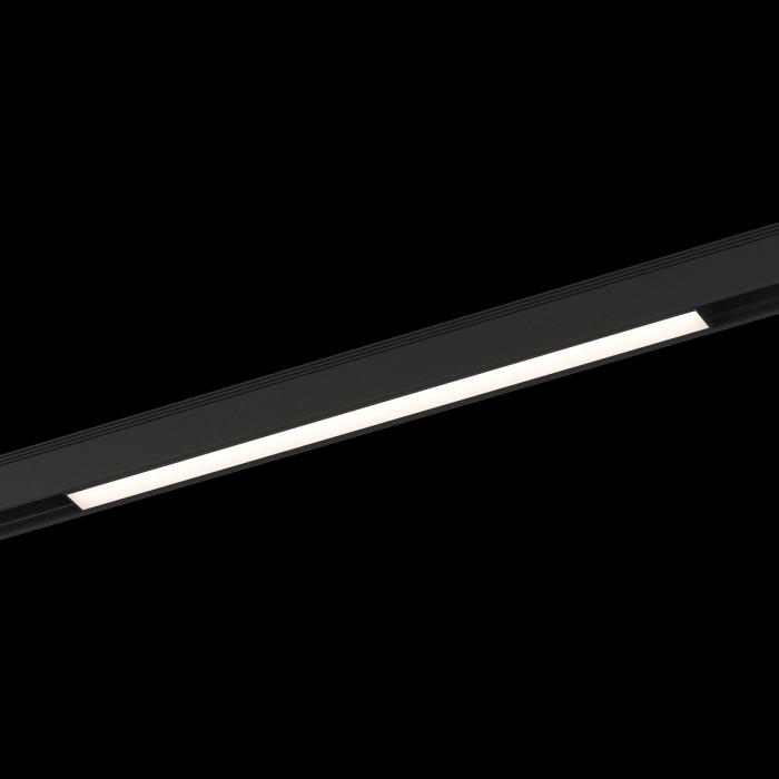 1Трековый светильник SY 24W черный 3000К SY-601212-BL-24-WW