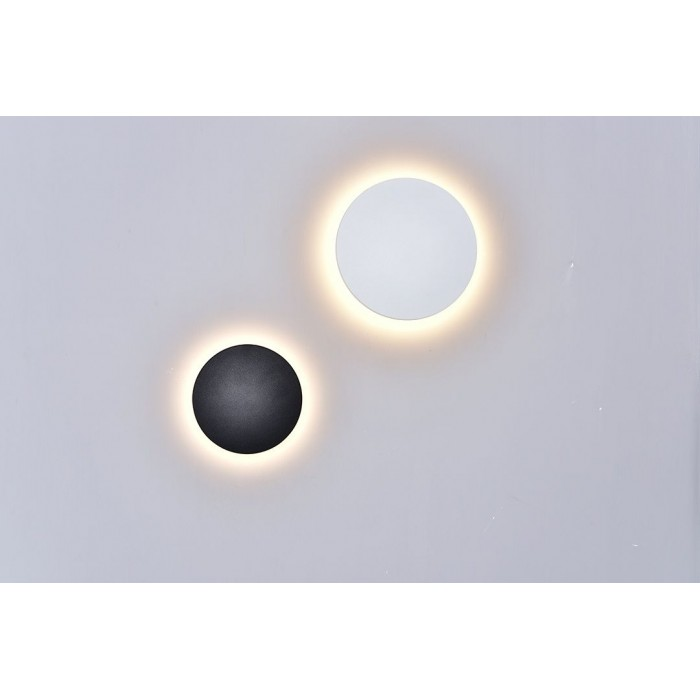 2Настенный светильник CIRCUS, белый, 9Вт, 4000K, IP54, GW-8663L-9-WH-NW