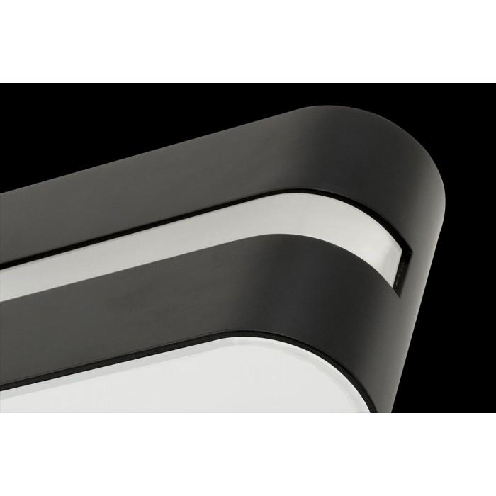2Бра декоративное RAZOR LN, черный, 6Вт, 3000K, IP20, GW-1557-6-BL-WW
