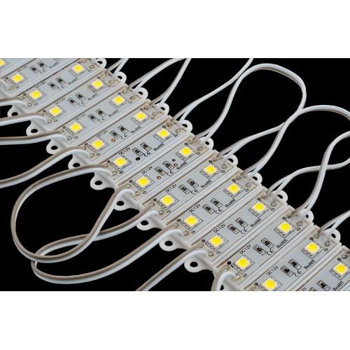 Модуль светодиодый SWG, 2LED, 0,48Вт, 12В, IP65, Цвет: 6000-6500 К Холодный белый, провод 15см