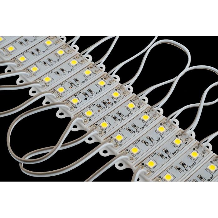 1Модуль светодиодый SWG, 2LED, 0,48Вт, 12В, IP65, Цвет: 6000-6500 К Холодный белый, провод 15см