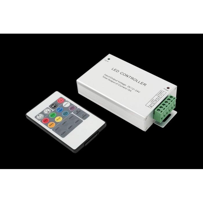 1LED RGB контроллер 18 А 12-24 Вольт, ИФ 20 кн
