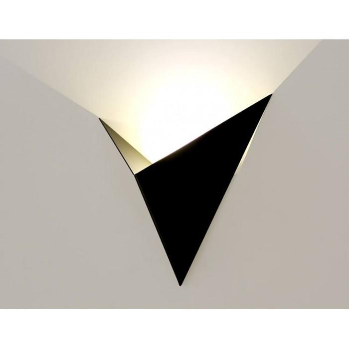 2Бра декоративное TRIK, черный, 3Вт, 4500K, IP20, GW-9103-3-BL-NW