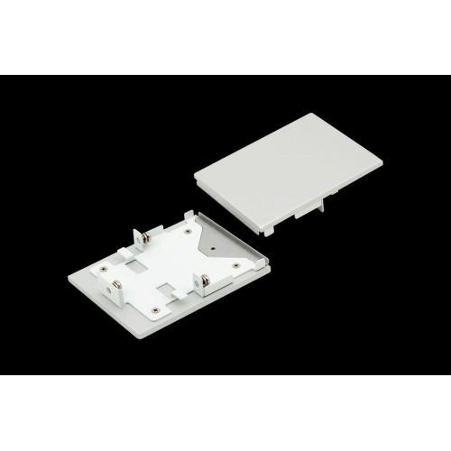 Заглушки для профиля L5570, серебро, 2шт/комплект