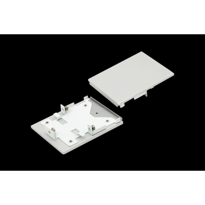 1Заглушки для профиля L5570, серебро, 2шт/комплект