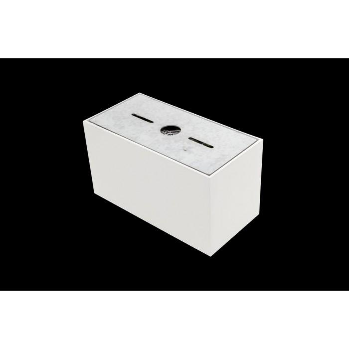 2Светильник светодиодный потолочный накладной, серия GW, белый, 20Вт, IP20, Нейтральный белый (4000К)