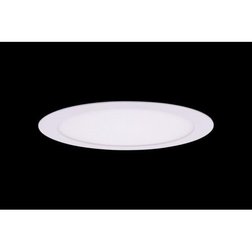 Светильник светодиодный потолочный встраиваемый PL, Белый, Пластик + алюминий, Теплый белый (2700-3000K), 18Вт, IP20