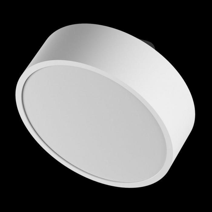 2Светильник светодиодный потолочный накладной наклонный, серия IMD, белый, 15Вт, IP44, Теплый белый (3000К)