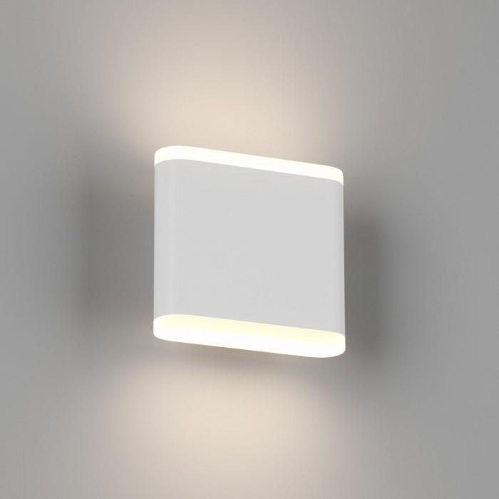 1Настенный светильник BRAVO, белый, 6Вт, 3000K, IP54, GW-6080S-6-WH-WW