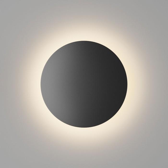 1Настенный светильник CIRCUS, черный, 6Вт, 3000K, IP54, GW-8663S-6-BL-WW