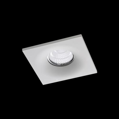 NC1761SQ-FW Встраиваемая рамка мат белый MR16 (POINT-SQ-FW)