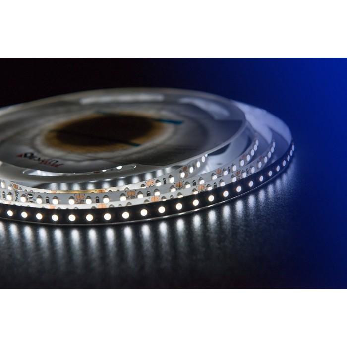 2Лента светодиодная LUX, 3528, 120 LED/м, 9,6 Вт/м, 12В, IP33, Холодный белый (6000K)