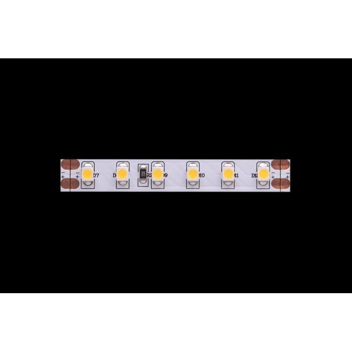 2Лента светодиодная стандарт 3528, 120 LED/м, 9,6 Вт/м, 24В, IP20, Теплый белый