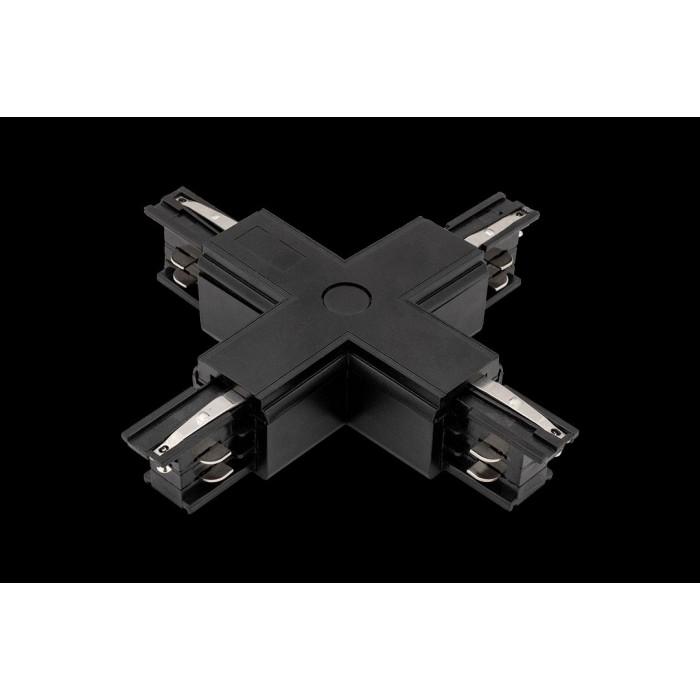 2004390 X коннектор трековых систем, черный