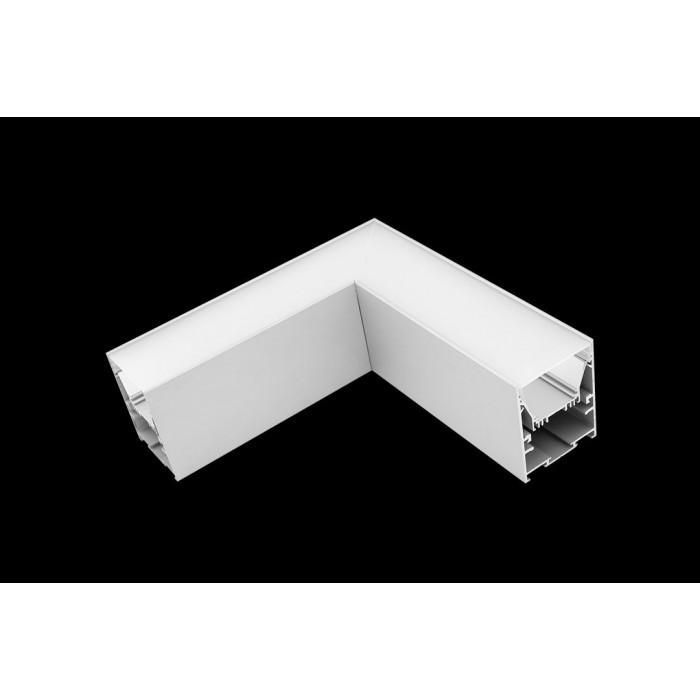1Угловой L-образный коннектор L5570-L90 для профиля L5570