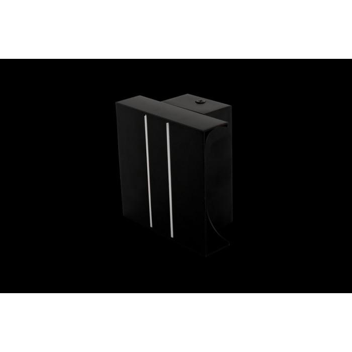 1Бра декоративное RAZOR DBL, черный, 5Вт, 3000K, IP20, GW-7002-5-BL-WW