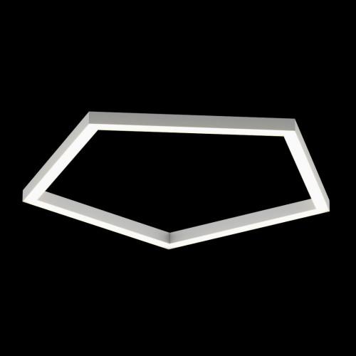 Светильники из профиля PEN-Type-5050-05-65-NW: Профиль LS 5050, Лента 4x DSG 2835 WW 280L-V24-IP33, 700LED, 26W/m, LUX, подвесы. Без блока питания.