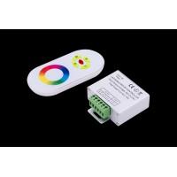 Led controller touch DELUCE 18А, 12/24 Вольт 5 кнопок и сенсорное кольцо, RF-RGB-S5-18A