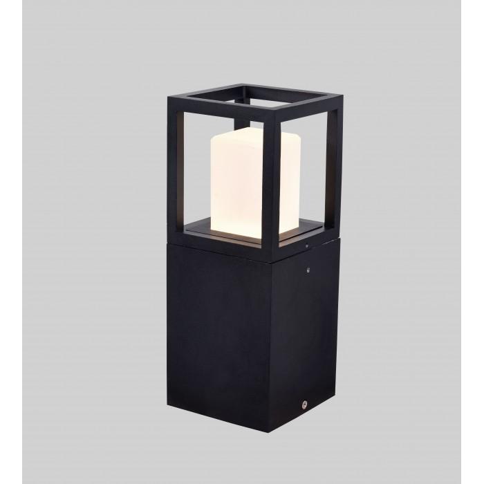 1Светильник светодиодный PO-0231-250A-BL-WW, серия JY, черный, 12Вт, IP65, Теплый белый (3000К)