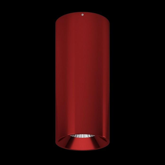 1Светильник VILLY, потолочный накладной, 15Вт, 3000K, красный