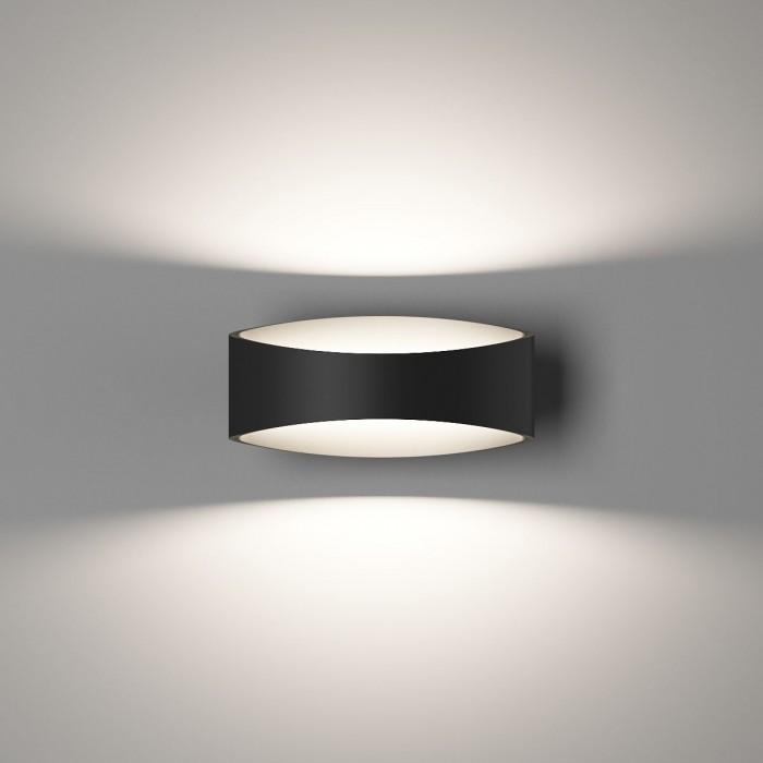 1Бра декоративное OLE, черный, 5Вт, 3000K, IP20, GW-A715-5-BL-WW