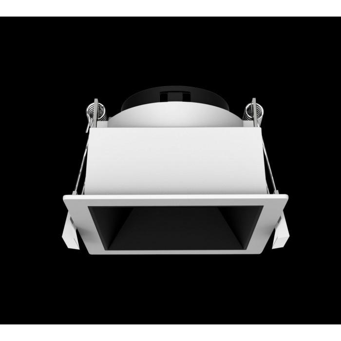 1Светильник под лампу Gu10 потолочный встраиваемый, серия DL-MJ-1034, белый, 35 (max)Вт, IP20