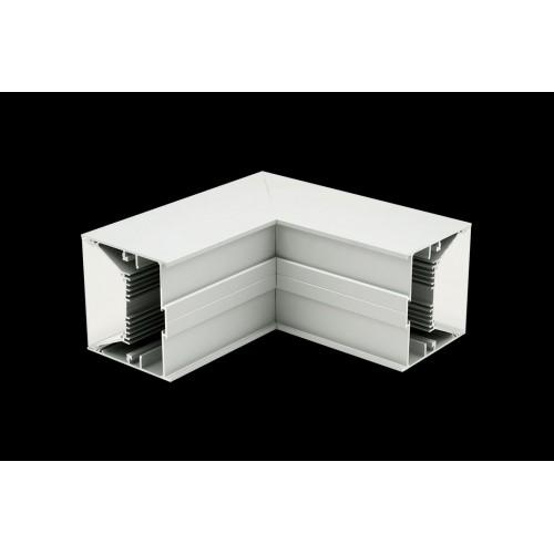 Угловой L-образный коннектор L9086-L90W для профиля L9086