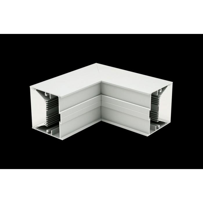 1Угловой L-образный коннектор L9086-L90W для профиля L9086