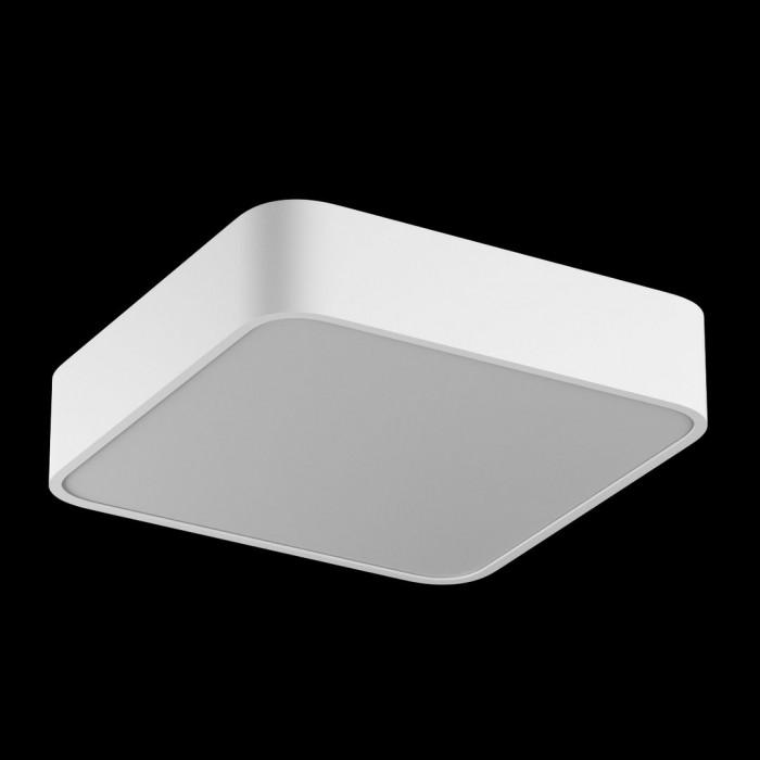 1Светильник светодиодный потолочный накладной наклонный, серия IMD, белый, 25Вт, IP44, Теплый белый (3000К)