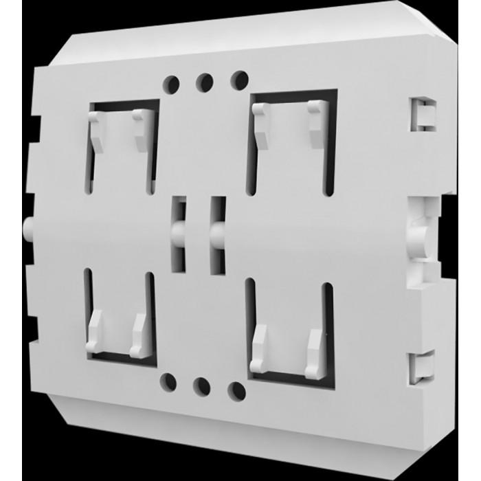 2Радио передатчик W-TX для установки за выключателями других производителей на 1 зону