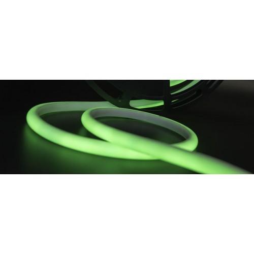 Термолента светодиодная SMD 2835, 180 LED/м, 12 Вт/м, 24В, IP68, Цвет: Зеленый
