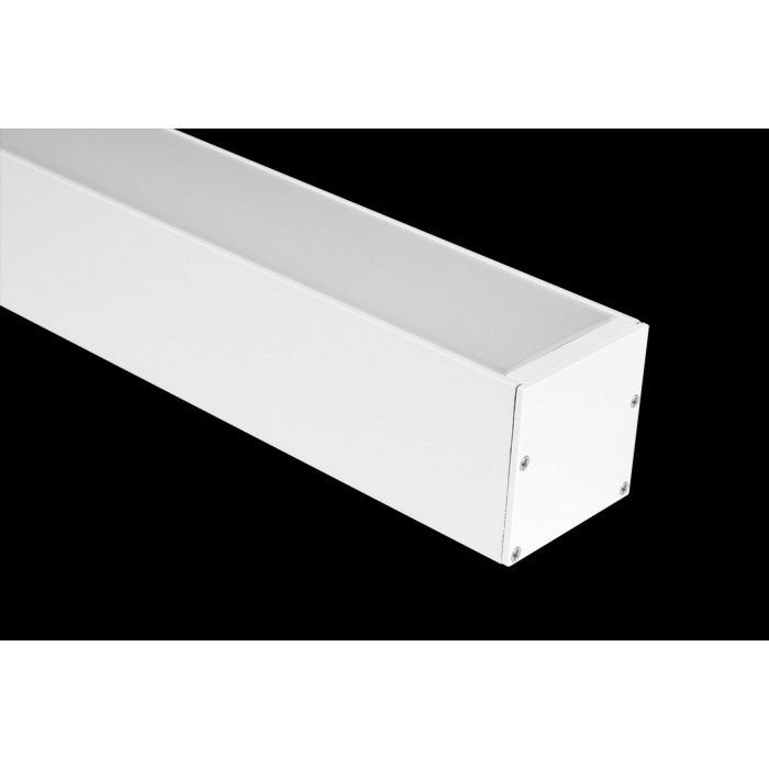 2Подвесной/накладной алюминиевый профиль LS.5050, белый
